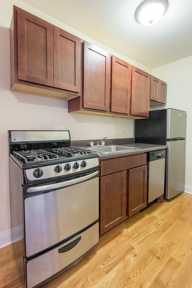 Renovated Two Bedroom Duplex - Kitchen
