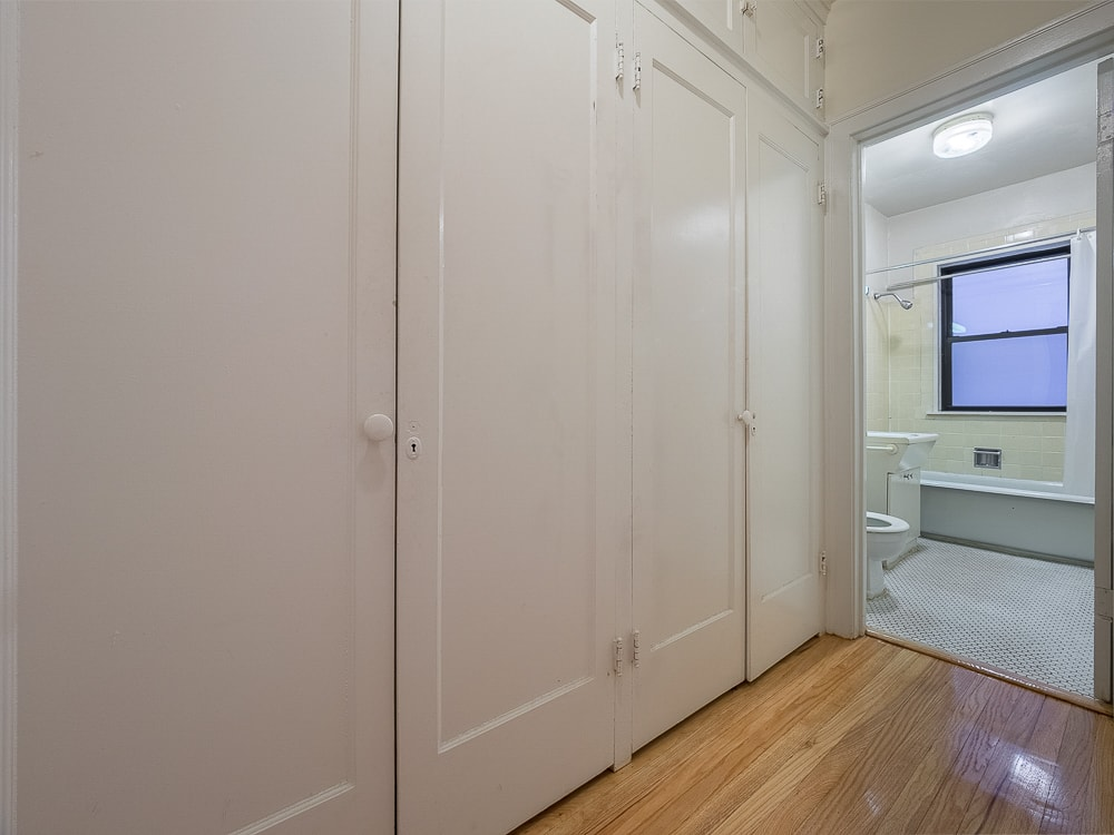 One Bedroom - Closets