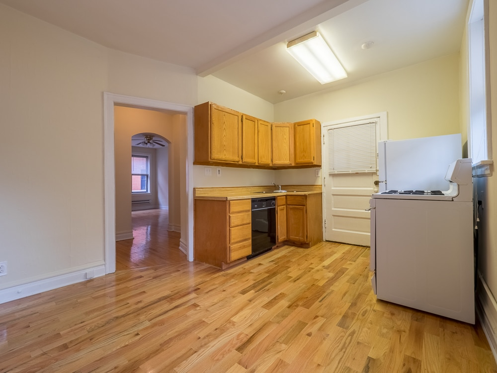 One Bedroom - Eat-in Kitchen