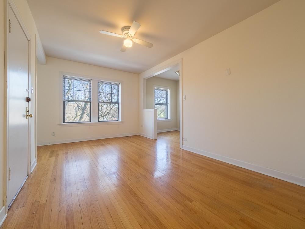 One Bedroom - Living Area