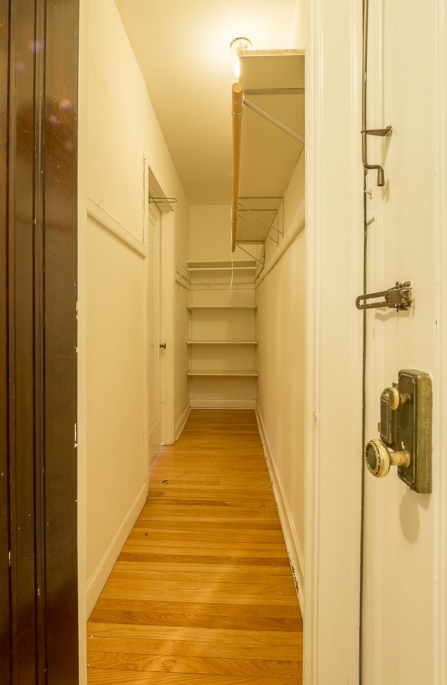 One Bedroom - Walk-in Closet