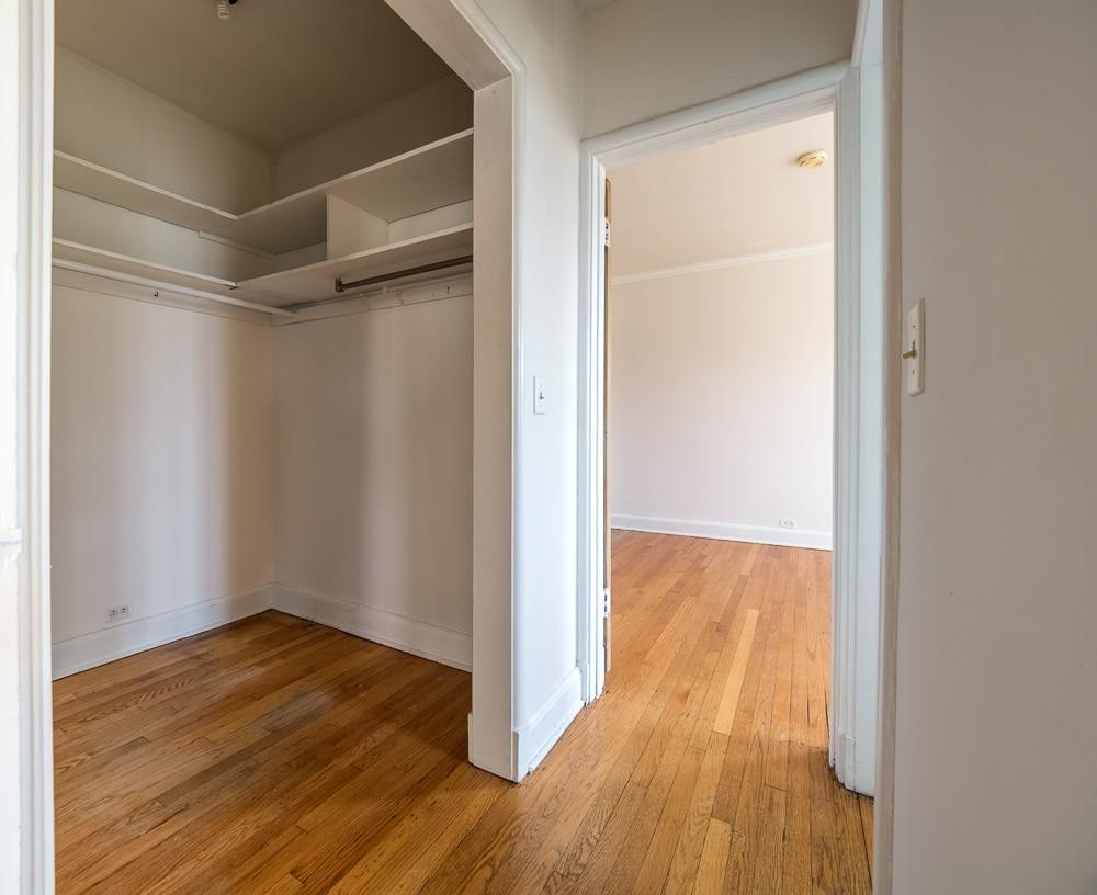 One Bedroom - Walk-in Closet