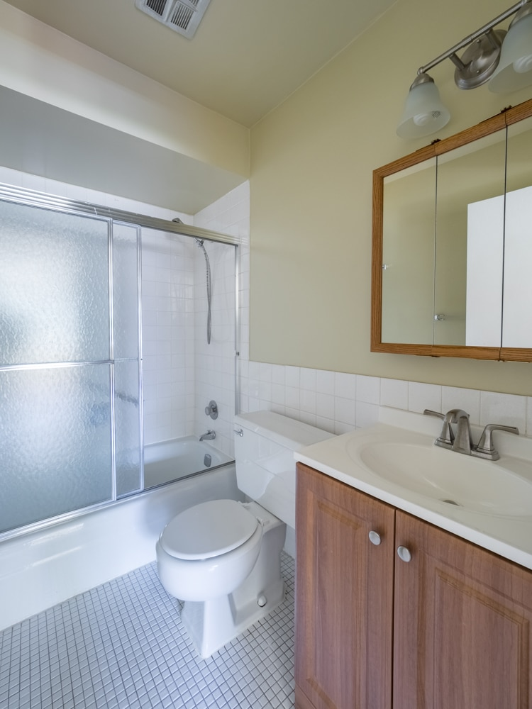 Renovated Two Bedroom-  Master Bathroom