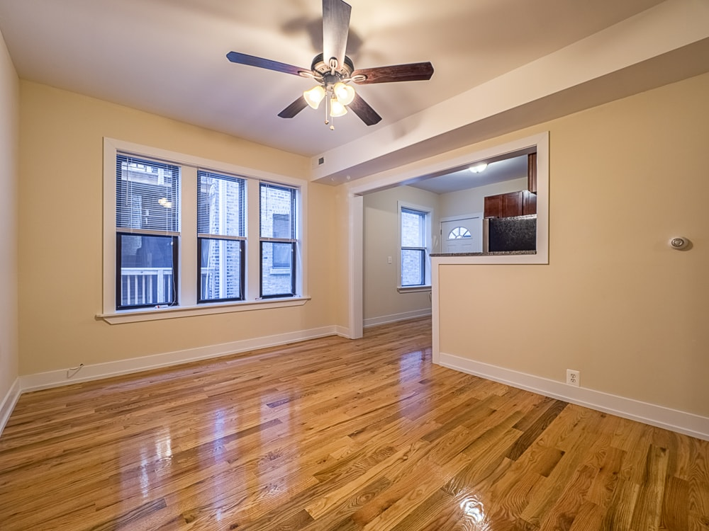 Renovated Two Bedroom - Living Area