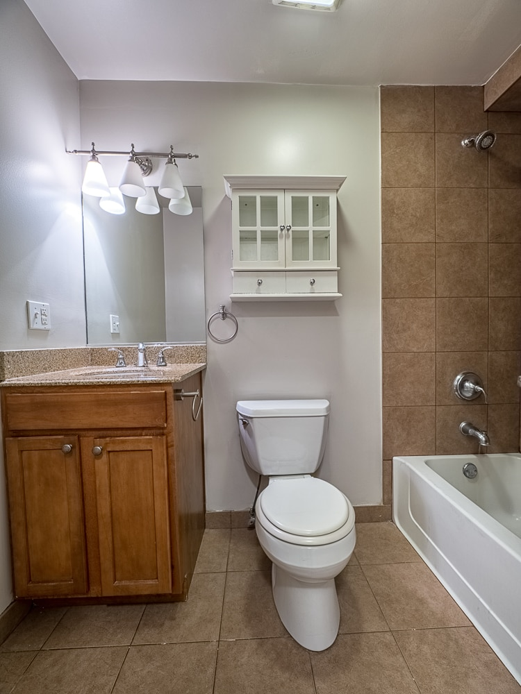 Renovated Junior One Bedroom - Bathroom