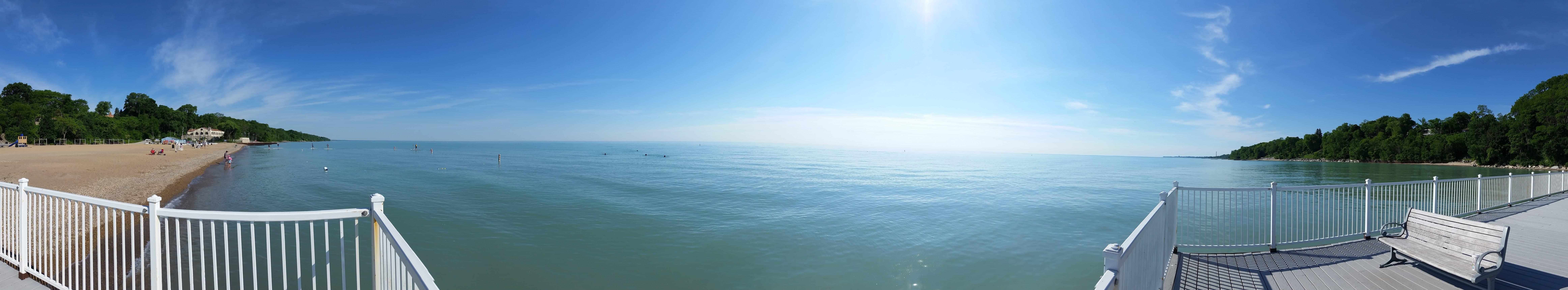 Glencoe Lake Michigan View