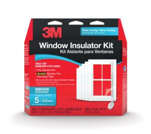 Window insulator kit to keep cold air out